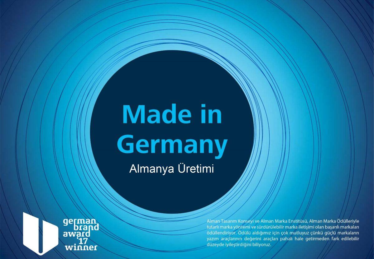 Üstün Alman Kalitesiyle Üretim