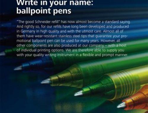 Schneider Promosyon Kalemler – Schneider Essential